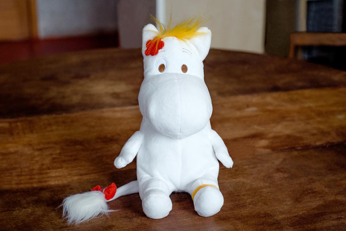 Мягкая игрушка MOOMIN МТ12-2 белый закладка с резинкой муми тролли муми тролль и фрекен снорк арте