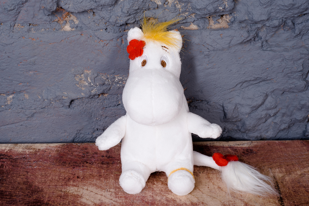 Мягкая игрушка MOONIM МТ12 закладка с резинкой муми тролли муми тролль и фрекен снорк арте