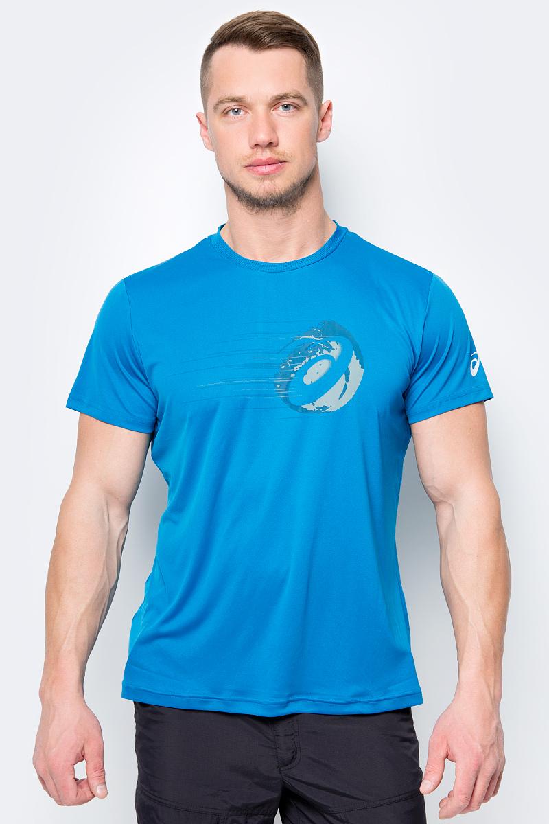 Футболка Asics GPX SS Top футболка asics футболка graphic ss tee boys