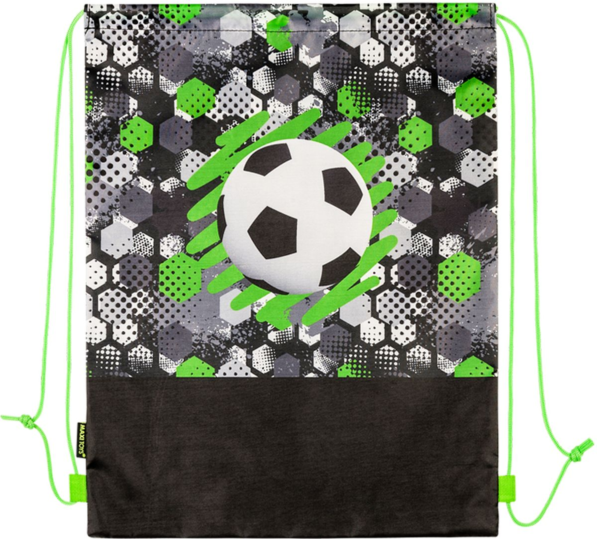Maxitoys Мешок для обуви Футбольный мяч мяч футбольный x match 56443 21 см