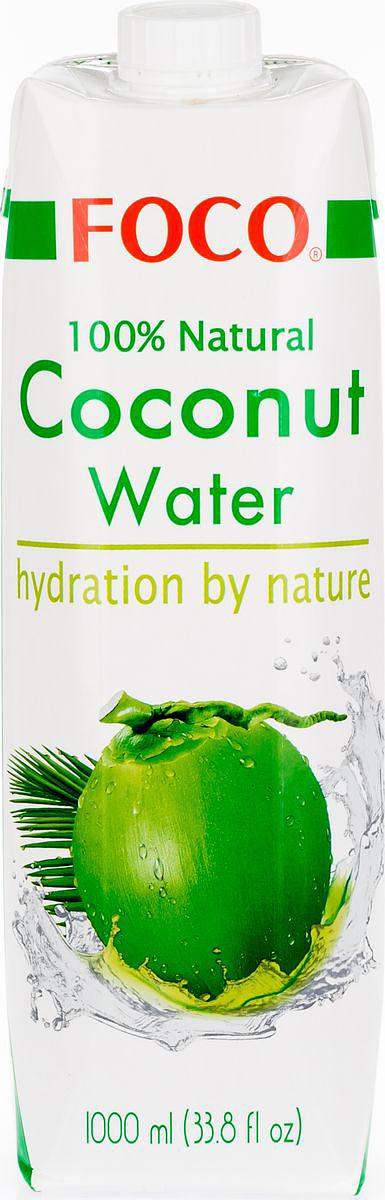 Foco Кокосовая вода натуральная, 1 л цена 2017