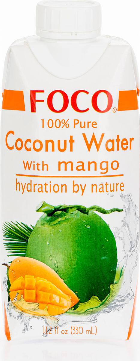 Foco Кокосовая вода с манго, 330 мл цена 2017