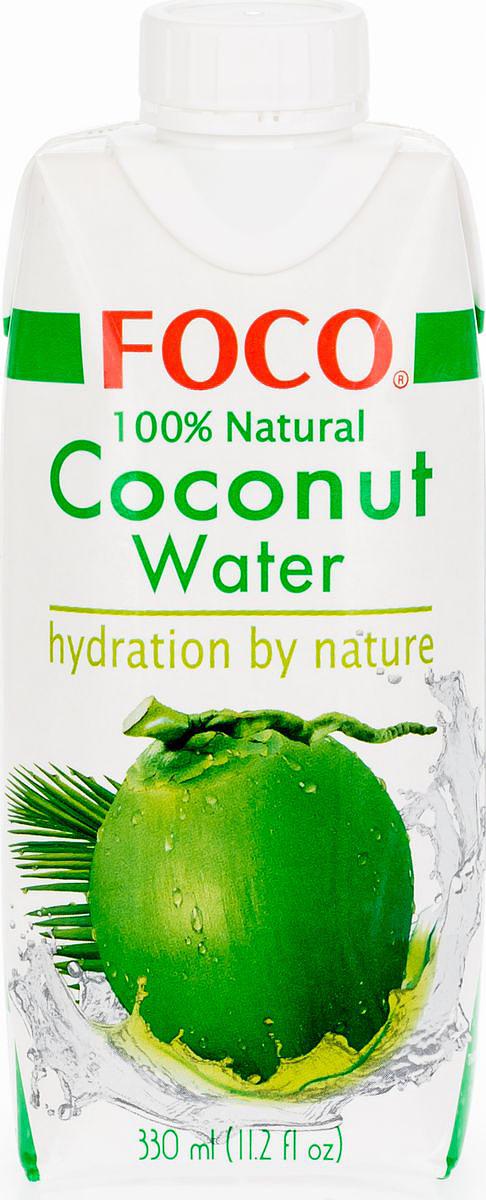 Foco Кокосовая вода натуральная, 330 мл цена 2017