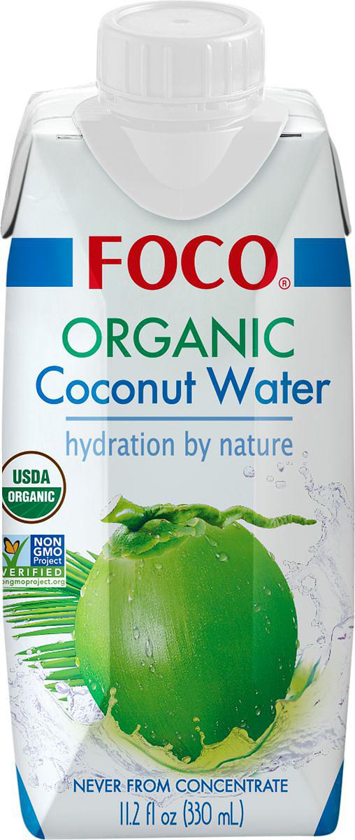 Foco Органическая кокосовая вода, 330 мл цена 2017