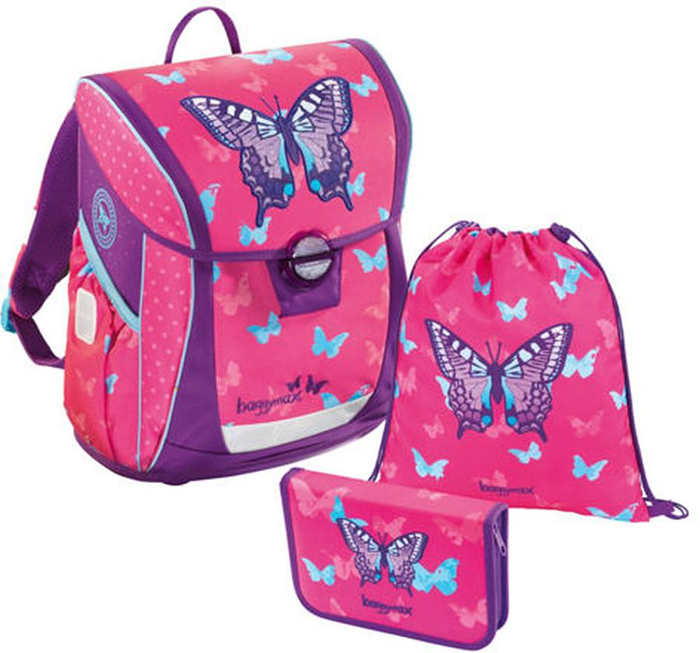 Step By Step Ранец школьный BaggyMax Niffty Sweet Butterfly с наполнением 3 предмета step by step ранец школьный baggymax niffty unicorn dream с наполнением 3 предмета