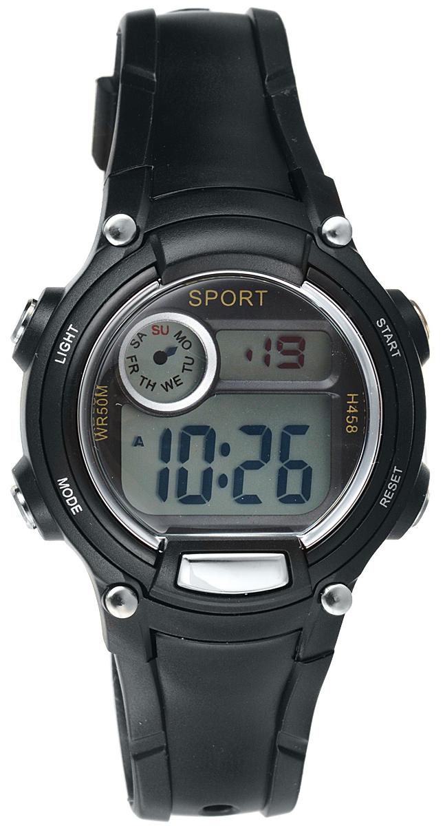 Часы наручные детские Тик-Так, цвет: черный. Н458 WR50 часы наручные детские тик так звезды цвет черный 114 4