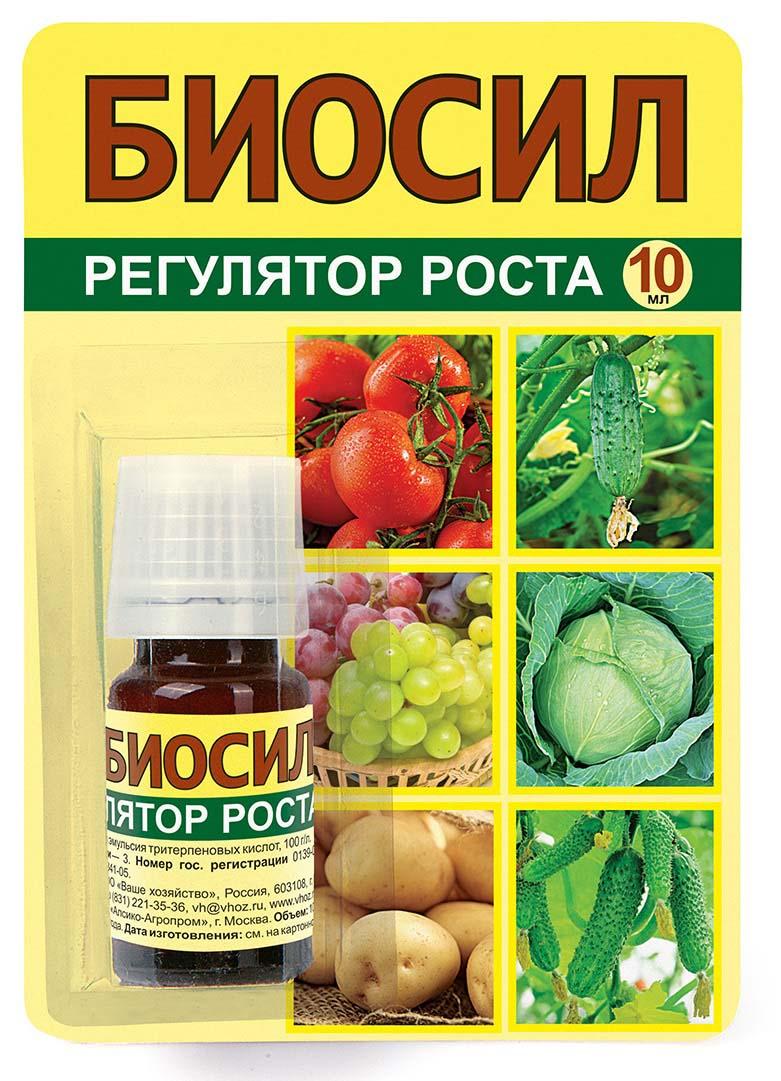 Регулятор роста и развития растений Ваше хозяйство Биосил, 10 мл регулятор роста и развития растений ваше хозяйство биосил 10 мл