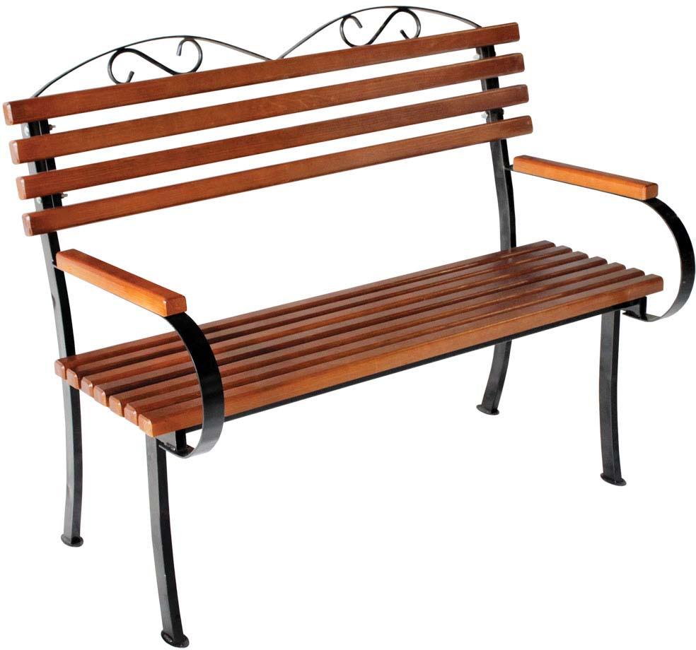 Скамья садовая Комплект-Агро Романтика, 118 х 75 х 98 см деревянная садовая мебель фото