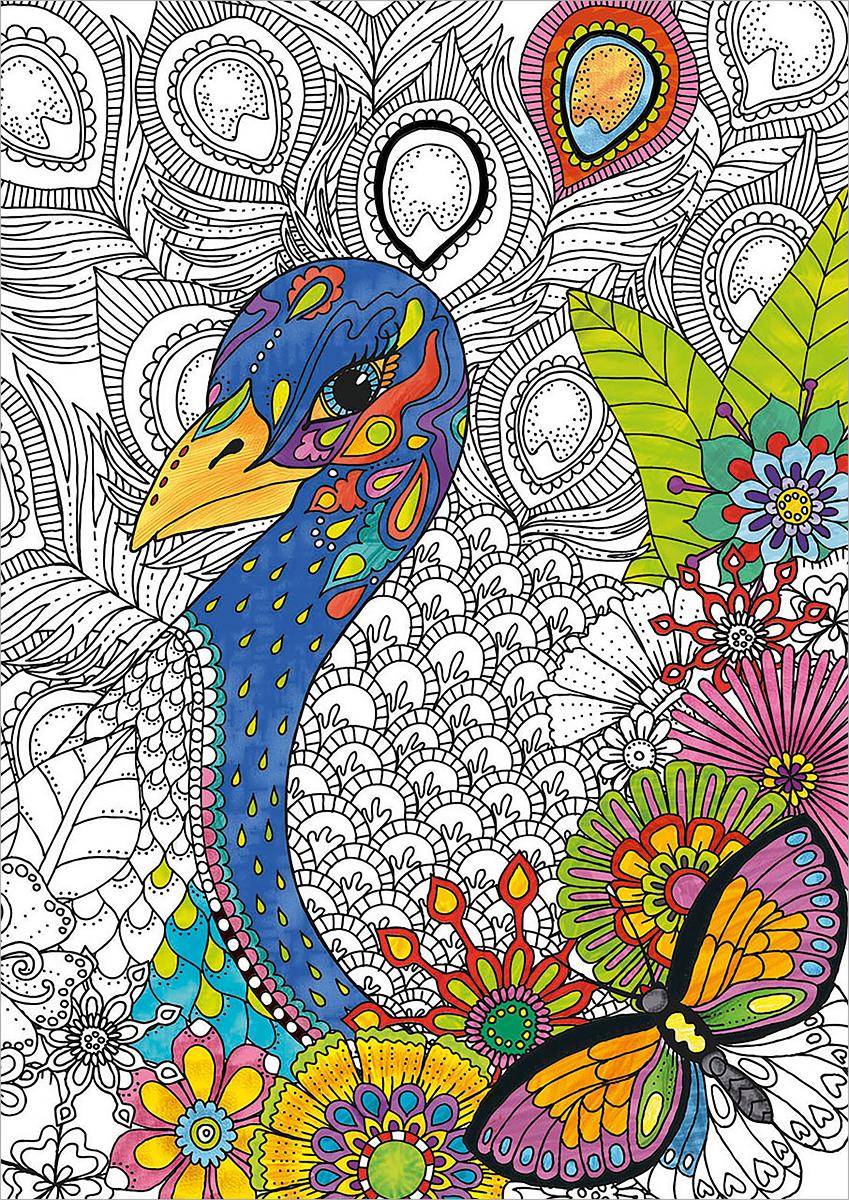 Educa Пазл-раскраска Джунгли цена 2017