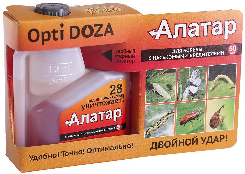 Препарат для защиты растений Ваше хозяйство Алатар, от вредителей, 50 мл препарат для защиты растений ваше хозяйство инсектор от вредителей 1 2 мл