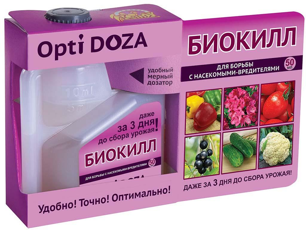 Препарат для защиты растений Ваше хозяйство БиоКилл, от вредителей, 50 мл препарат для защиты растений ваше хозяйство инсектор от вредителей 1 2 мл