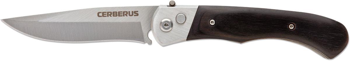 Нож автоматический Ножемир Четкий расклад. Cerberus, цвет: черный, длина лезвия 8,8 см нож автоматический ножемир четкий расклад wasp цвет серый длина лезвия 8 7 см