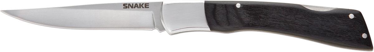 Нож складной Ножемир Четкий расклад. Snake, цвет: черный, длина лезвия 10 см нож автоматический ножемир четкий расклад wasp цвет серый длина лезвия 8 7 см