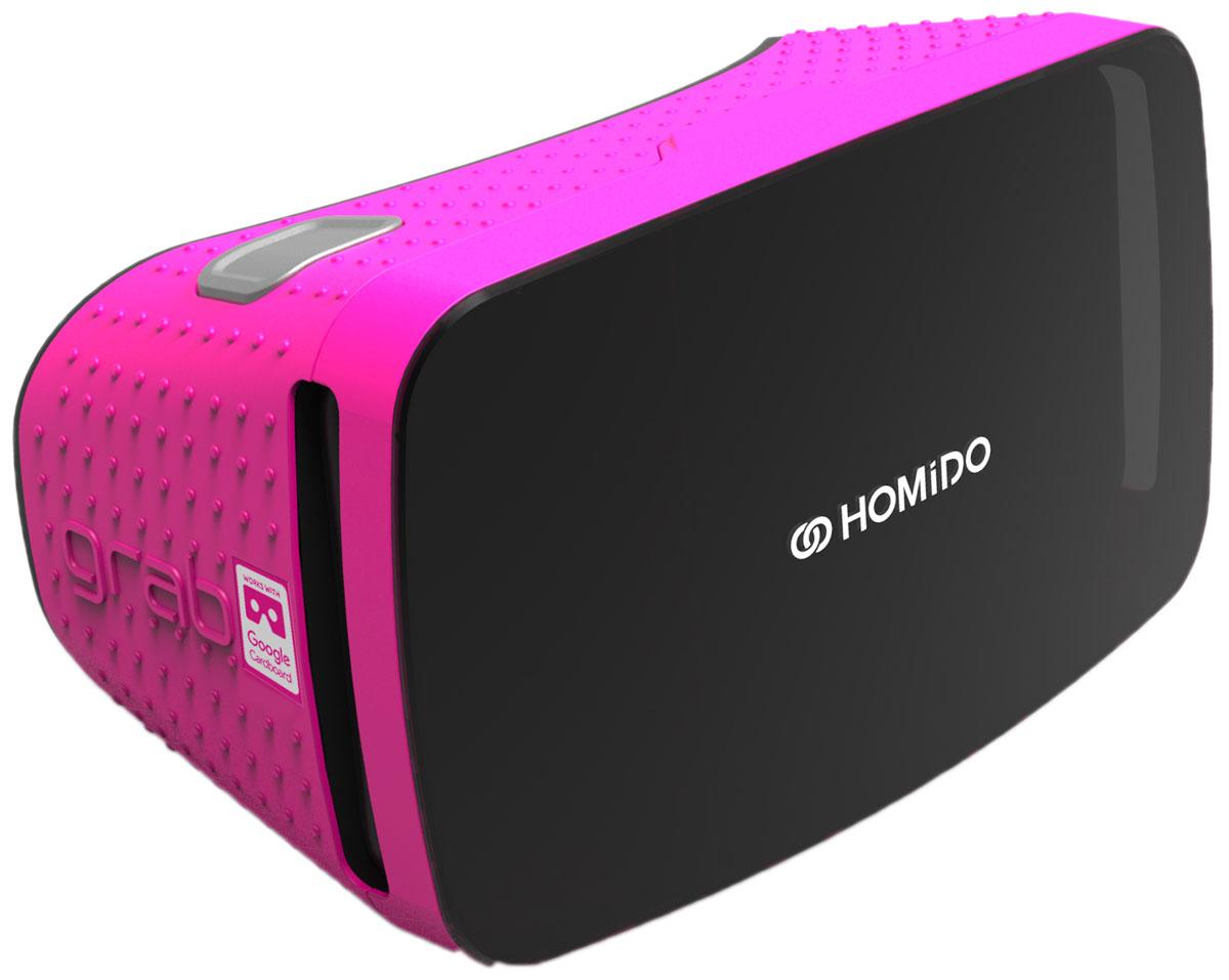 лучшая цена Homido Grab HMDG-P, Pink очки виртуальной реальности