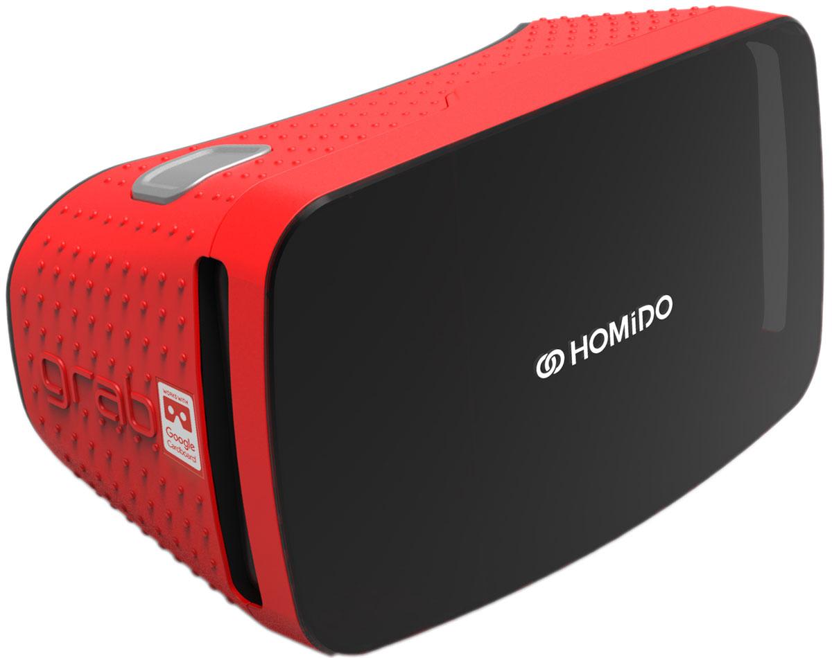Homido Grab HMDG-R, Red очки виртуальной реальности цена и фото