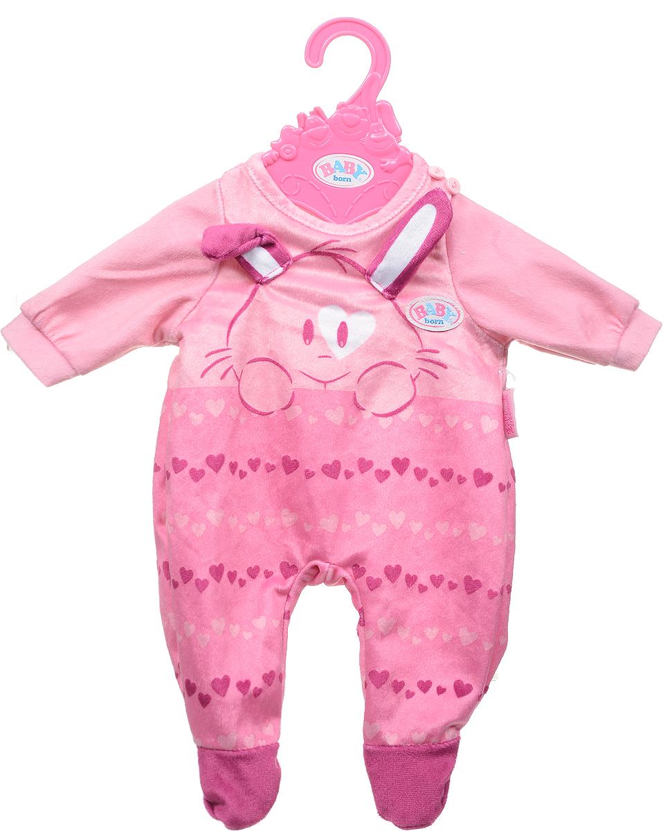 Zapf Creation Одежда для куклы BABY born 824-566, цвет: розовый цена