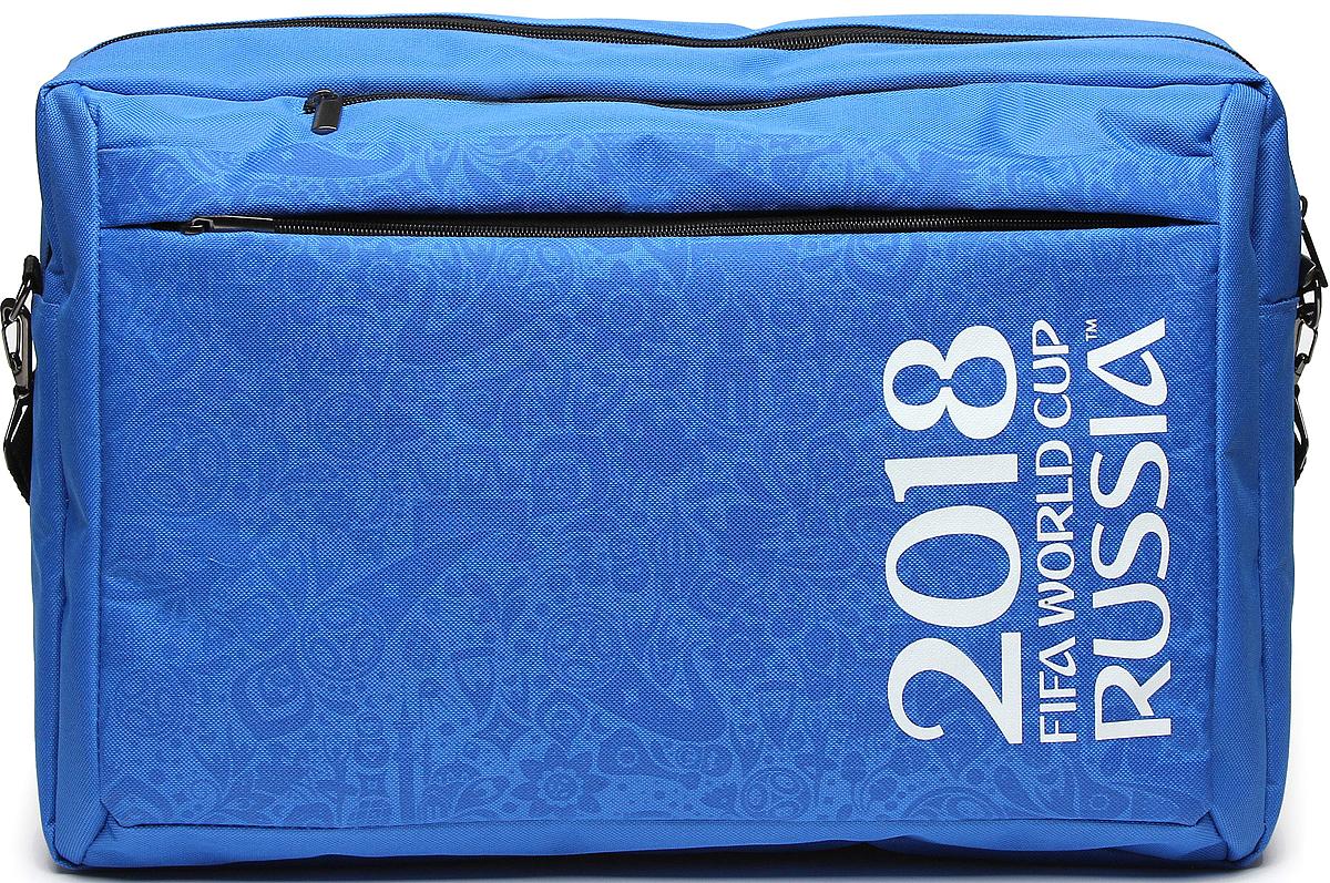 лучшая цена Crown Micro CM-F-BBC9001 FIFA 2018, Blue cумка-рюкзак для ноутбука 15,6