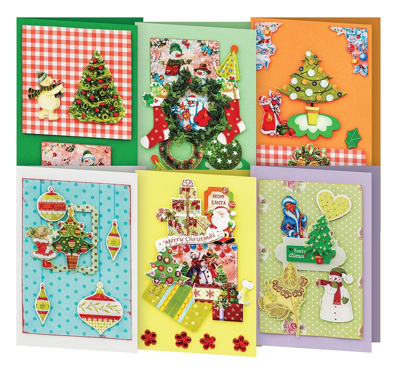 Набор для создания открыток Белоснежка Волшебный лес, 6 шт набор для создания открыток белоснежка атласные ленты 3 шт