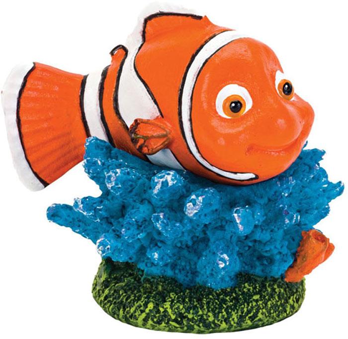 Грот для аквариума Penn-Plax Рыба-клоун Немо, 4 х 3,3 х 4,5 см террариум стеклянный penn plax rept3 81 х 46 х 81 см