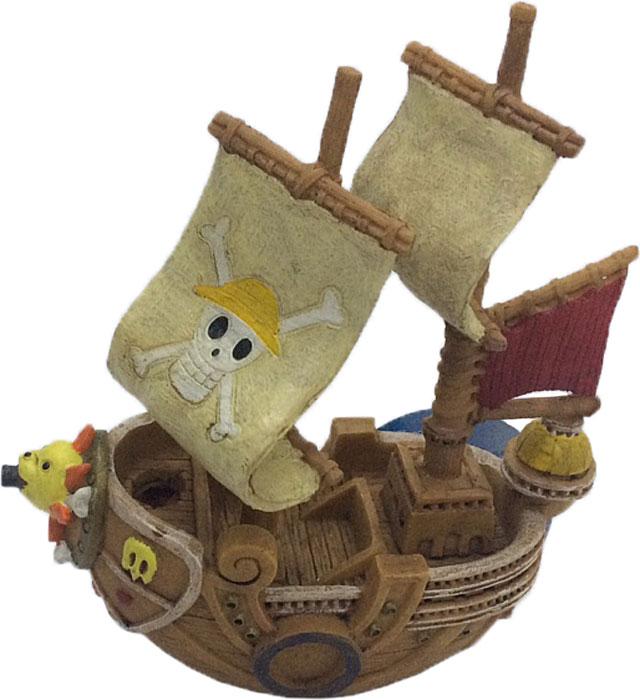 Декорация для аквариума Meijing Aquarium Пиратский корабль, 16 х 8 х 18,5 см egmont toys магнитная игра пиратский корабль egmont toys