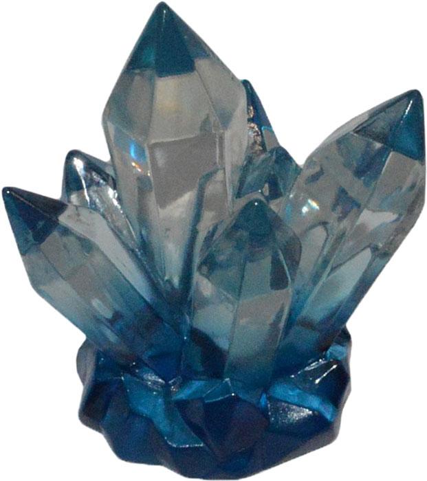 Декорация для аквариума Penn-Plax Голубой кристалл, 9,91 х 7,11 х 10,67 см декорация для аквариума penn plax домик губки боба 14 см