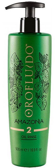 Orofluido Amazonia Rinse Oil Шаг 2 Очищающий шампунь, 500 мл orofluido amazonia rinse oil шаг 2 очищающий шампунь 500 мл