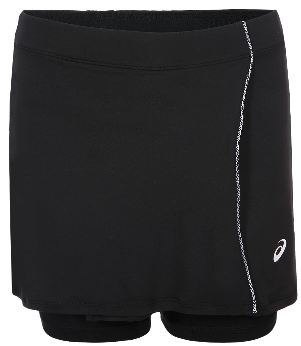Asics Skort платье для тенниса asics w club dress цвет розовый синий 141173 0688 размер m 46 48