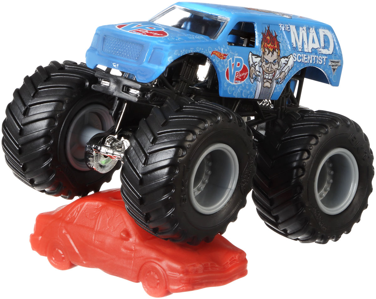 все цены на Hot Wheels Monster Jam Машинка The Mad Scientist онлайн