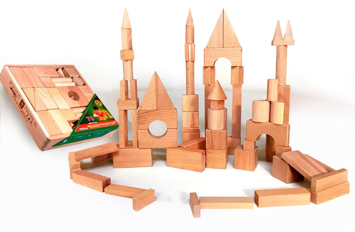 Престиж-Игрушка Деревянный конструктор К2301