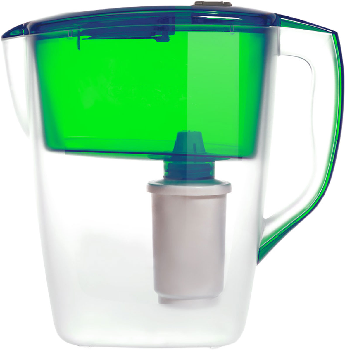 Фото - Фильтр-кувшин Гейзер Геркулес, цвет: зеленый, 4 л кувшин гейзер аквилон зеленый 3л 62042