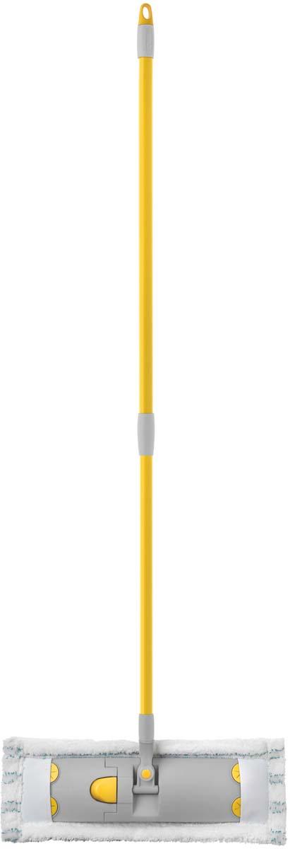 Швабра Apex Flat Mop Antibacterial, с телескопической ручкой, 40 см виледа швабра ультрамат с телескопической ручкой