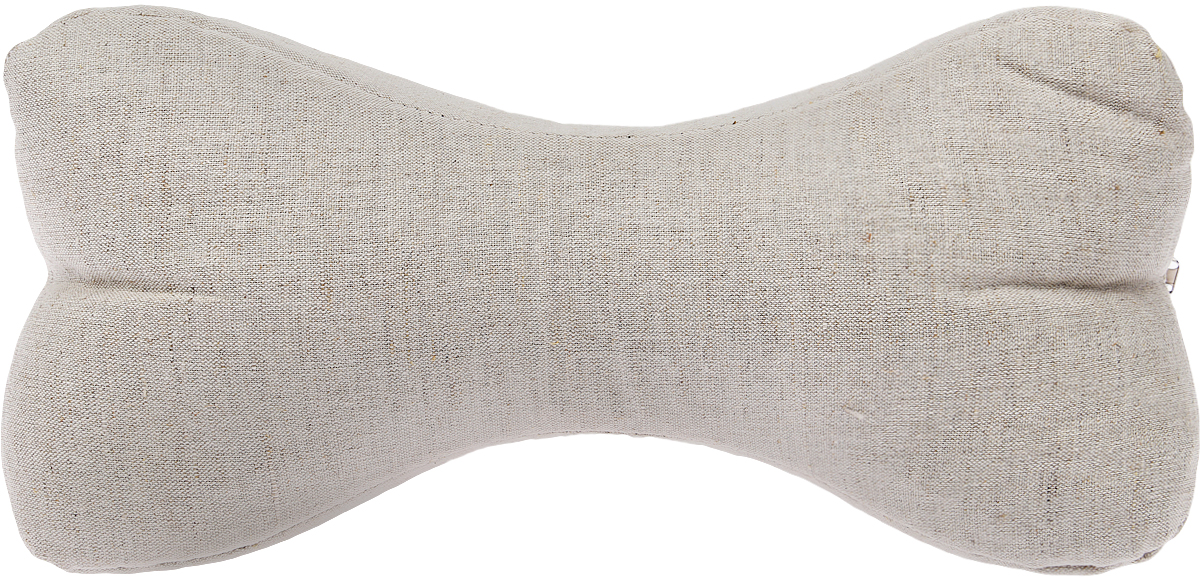 Подушка Bio-Textiles Косточка, наполнитель: лузга гречихи + лаванда, 38 х 15 см. FL255 подушка косточка лузга гречихи тик 35 18