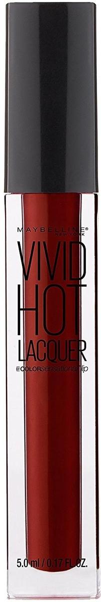"Maybelline New York Жидкая губная помада ""Vivid Hot Lacquer"", оттенок 72, Classic, 5 мл"