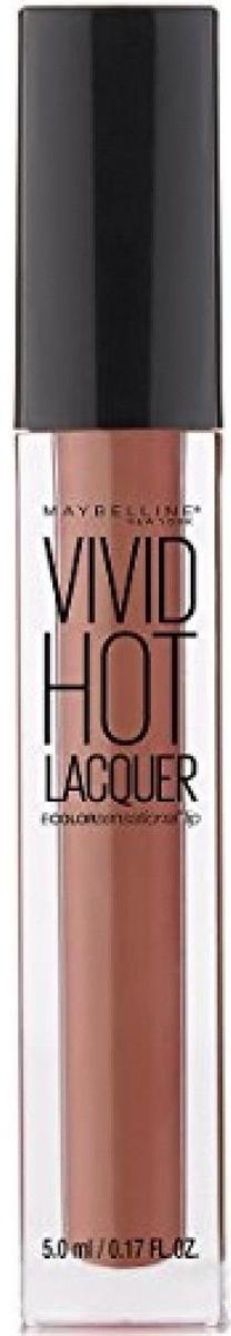 "Maybelline New York Жидкая губная помада ""Vivid Hot Lacquer"", оттенок 62, Charmer, 5 мл"