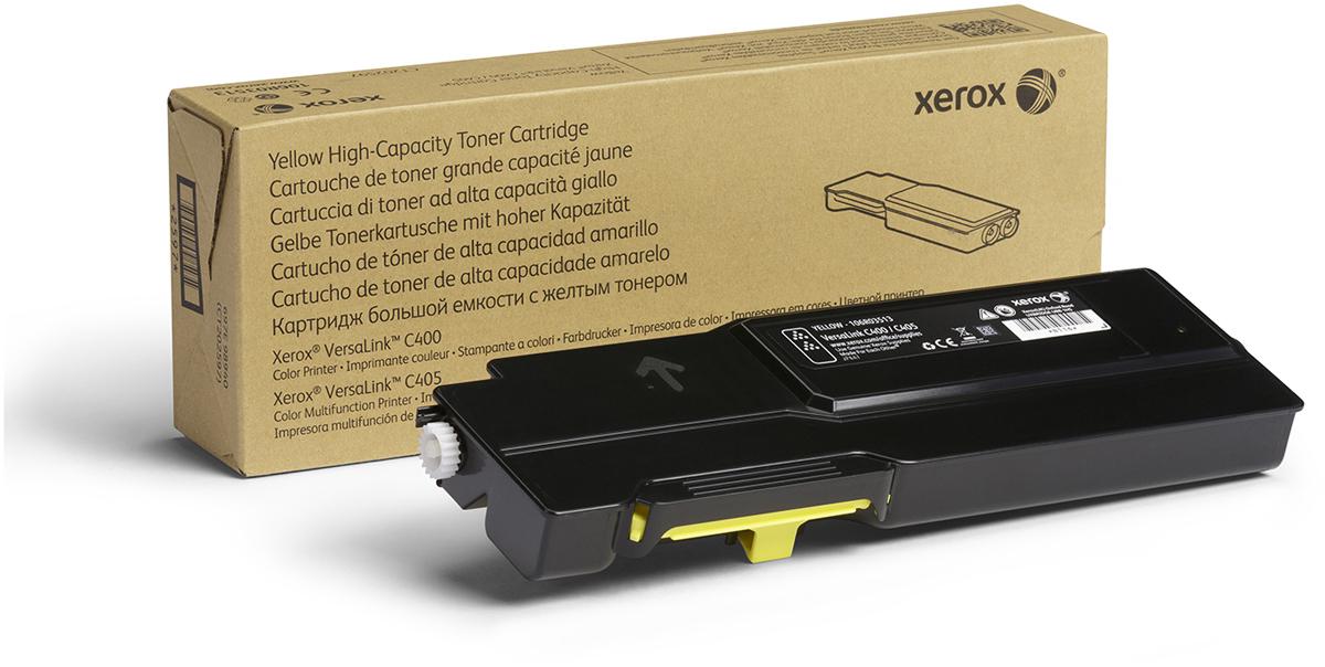 Картридж Xerox 106R03521, желтый, для лазерного принтера