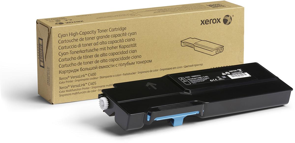 Картридж Xerox 106R03522, голубой, для лазерного принтера