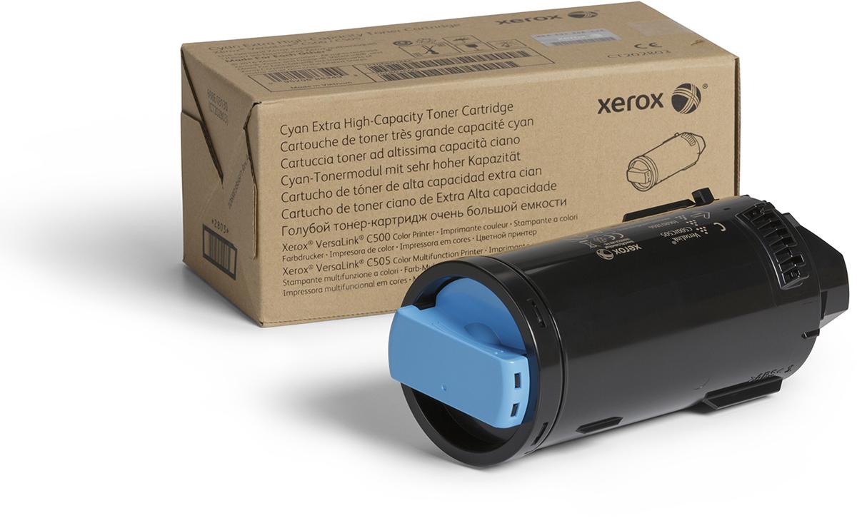 Картридж Xerox 106R03884, голубой, для лазерного принтера, оригинал