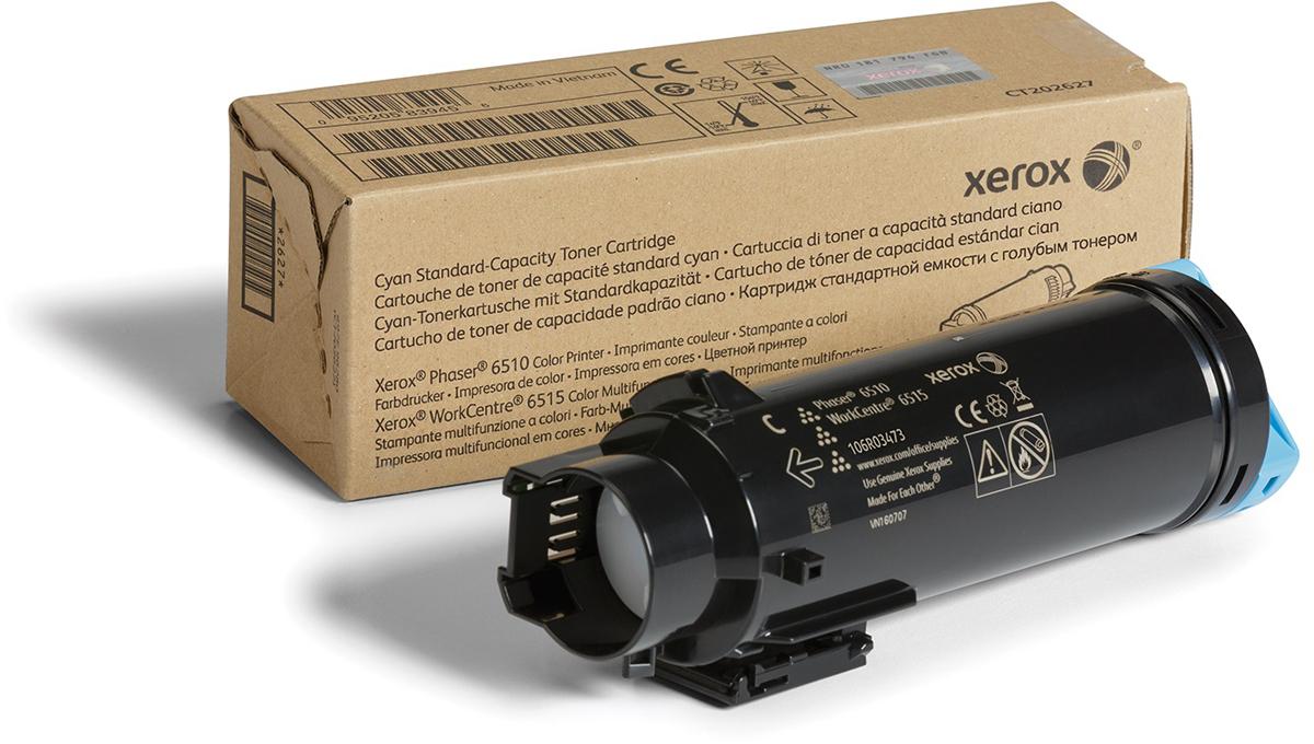 Картридж Xerox 106R03481, голубой, для лазерного принтера, оригинал