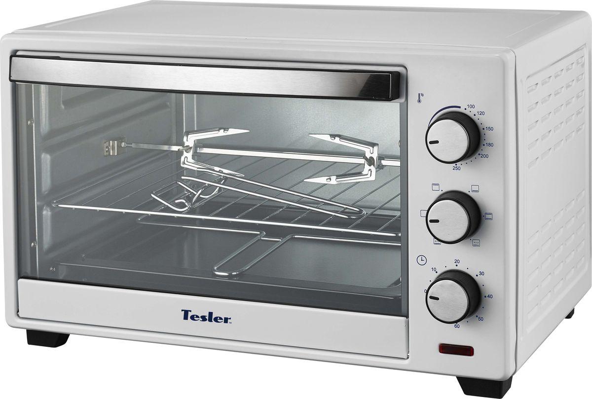 Tesler EOG-2900, White мини-печь tesler eog 2900 white мини печь