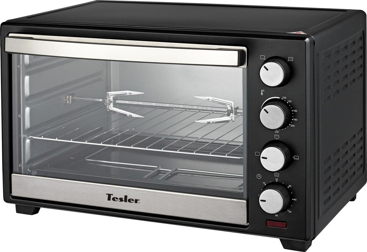 Мини-печь Tesler EOG-6000, Black tesler eog 2900 white мини печь