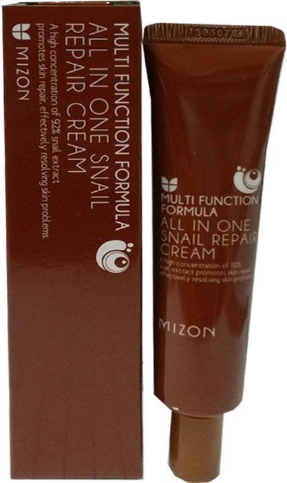 Крем для лица с муцином улитки Mizon In One Snail Repair Cream, 35 мл Mizon