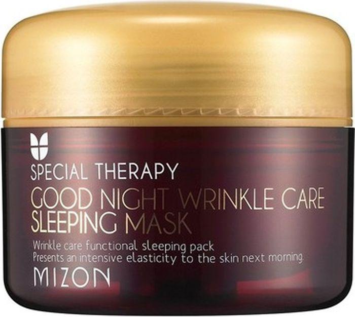 Mizon Ночная маска против морщин Good Night Wrinkle Care Sleeping Mask, 75 мл
