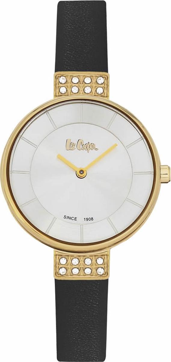 Часы наручные женские Lee Cooper, цвет: черный. LC06395.131 джемпер женский lee cooper цвет черный dido 5513 размер l 46