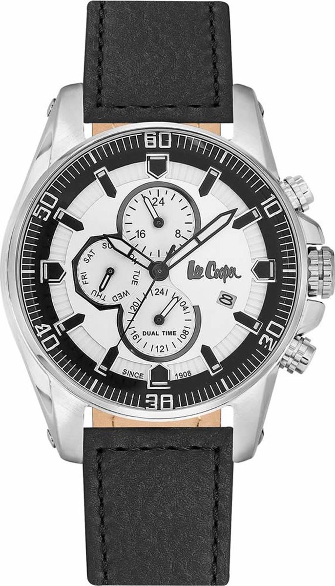 Часы наручные мужские Lee Cooper, цвет: черный. LC06446.331 джемпер женский lee cooper цвет черный dido 5513 размер l 46
