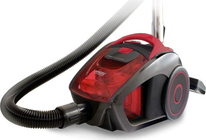 лучшая цена Пылесос Ginzzu VS429, Gray Red