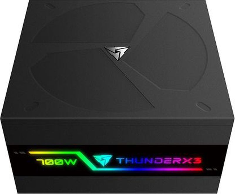 Блок питания компьютера ThunderX3 Plexus 700, Black