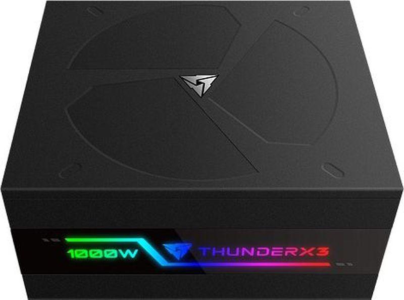 Блок питания компьютера ThunderX3 Plexus 1000, Black