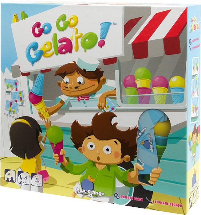лучшая цена Blue Orange Настольная игра Экспресс-мороженое Go Go Gelato
