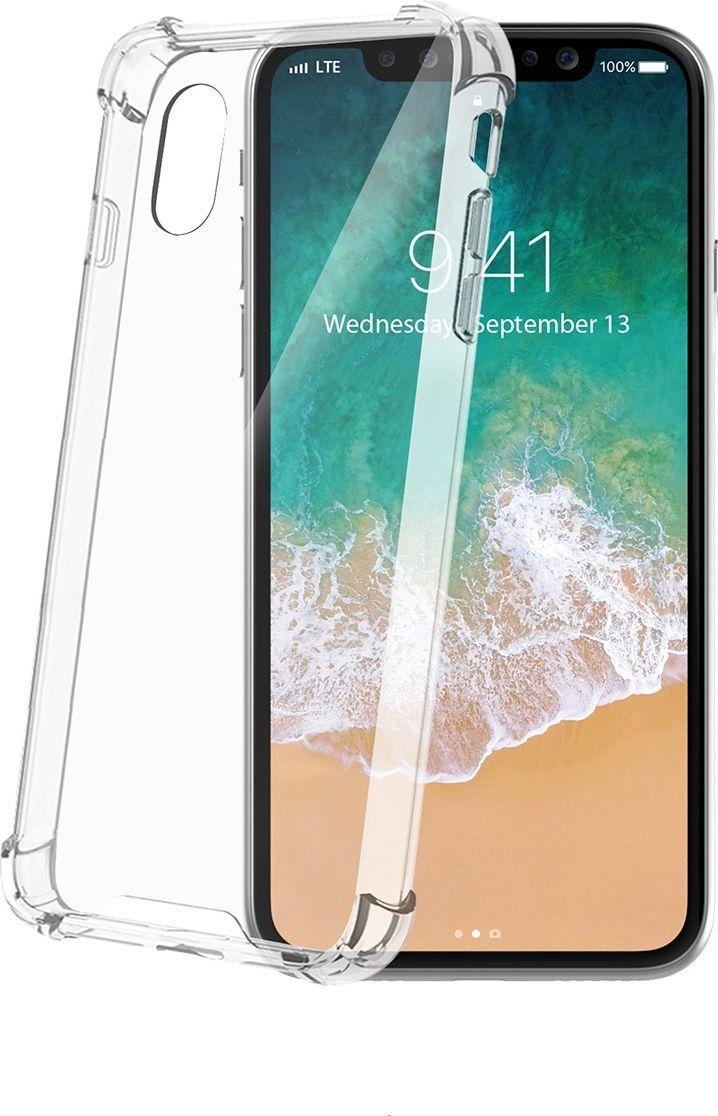 Celly Armor Premium чехол для Apple iPhone X, Transparent цена и фото