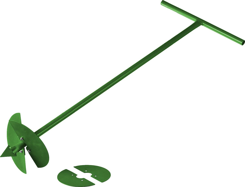 Бур садовый Росток, со сменными ножами 150/200 мм, длина 1000 мм Уцененный товар (№22)